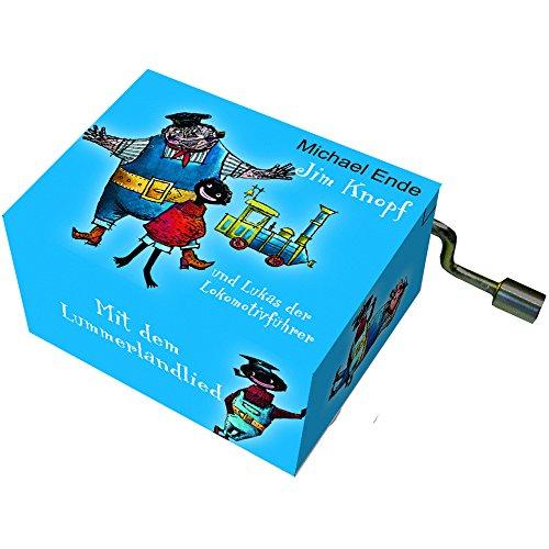 Fridolin 58356 Spieluhr Jim Knopf - Lummerlandlied, blau