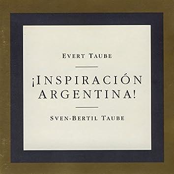 ¡Inspiración Argentina!