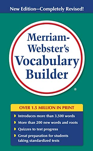 Compare Textbook Prices for Merriam-Webster's Vocabulary Builder, Newest Edition Newest Edition Edition ISBN 9780877798552 by Mary W. Cornog