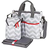 Baby Diaper Bag for Girls & Boys - 3 in 1 Compact Diaper
