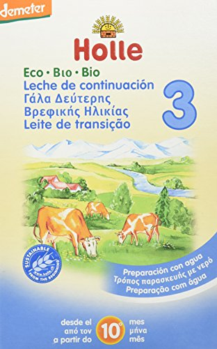 Holle - Leche Holle 3 600 gr 10m+ (1400572412)