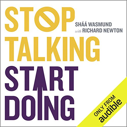Stop Talking Start Doing  audiobook cover art