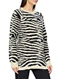 MAMALICIOUS MLCELINE L/S Knit Top, Parchment, M para Mujer