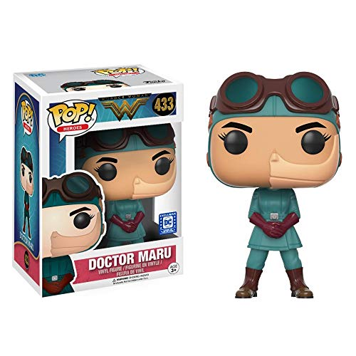 Funko Pop Heroes DC Wonder Woman Movie Doctor Maru Action Figure Legion of Collectors Exclusive