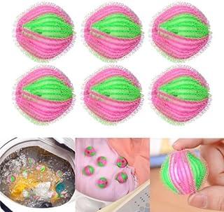 AuCatStore(TM) 6X Hair Lint Fluff Grabbing Laundry Washing Wash Ball Wash Machine Cleaner 3.5cm