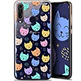 Ultra Slim Case for 6.3-Inch Wiko View 3 Pro, Sleeping Cat