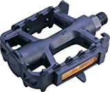 ETC EPE211 Mountain Bike Resin Pedals, Black, 9/16 inch
