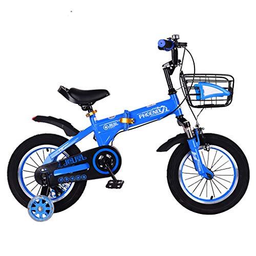Bicicleta Plegable para niños, Bicicleta para bebés de 2 a