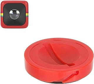 Polaroid キューブ/CUBEスポーツアクションデジタルビデオカメラ用 交換用キャップ (レッド)
