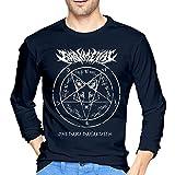 ブルームン Tシャツ 長袖 Babymetal トレーナー シャツ 上着 ファッション カットソー Xl Navy 綿 メンズ レディース