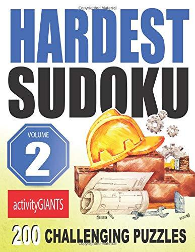 Hardest Sudoku Volume 2 200 Challenging Puzzles