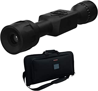 ATN Thor-LT 3-6X Ultra Light Thermal Rifle Scope Bundle with Pipeline by Slappa 25 inch Concealed Gun Storage Soft Case Ideal Gun Range Bag