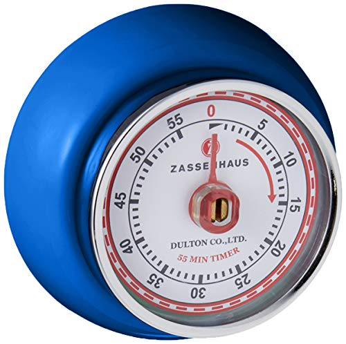 Zassenhaus M072273 Speed Küchentimer, Edelstahl