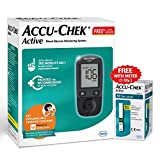 Accu-Chek Active Blood Glucose Meter Kit, Vial of 10 strips...