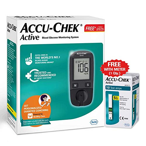 Roche Accu-Chek Active Blood Glucose Meter Kit