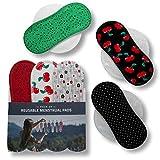 Assorbenti lavabili mestruale di cotone, in pacchetto da 6 pezzi (di taglia S e M), PRODOT...