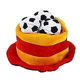 BESTOYARD Fußball Hüt Flagge Spanien Fußball Fanartikel 2018 Fußball WM Support Artiel Fußball Party Kostüme Hut