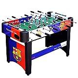 YAOMIN Fútbol de la Tabla estándar for Adultos Mesa de fútbol Grande Futbolín Juego de los Juguetes de Mesa (Tamaño: 120x60x80cm)