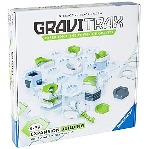 Ravensburger 27602 Gravitrax Building, Set Espansione, 8+ Anni, Gioco Logico-Creativo, Gioco STEM
