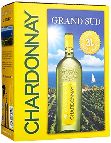Grand Sud Bag-in-box Chardonnay Trocken (1 x 3 l)
