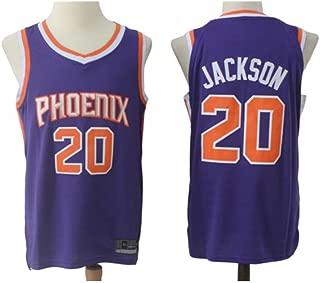 NBALL-HU Camiseta De Baloncesto Azul para Hombre Phoenix Suns # 20 ...