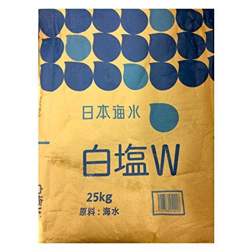 業務用塩 白塩W (25kg)