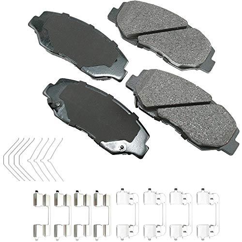 Akebono ACT914A Ultra-Premium Ceramic Front Disc Brake Pads