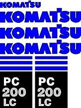 New Decal Set Made for PC 200 LC Komatsu Excavator