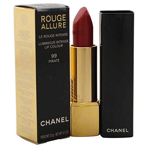 Chanel rot Allure Lippenstift 99 - pirate 3.5 g - Damen, 1er Pack (1 x 1 Stück)