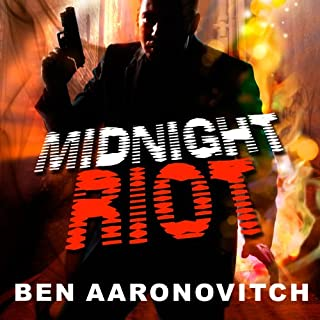 Midnight Riot audiobook cover art