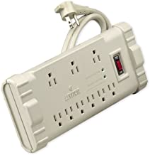 Leviton S2000-S15 120 Volt/15 Amp, Office Grade Surge Strip, Abs Plastic Enclosure, 15-Ft, 5-15P plug, Beige