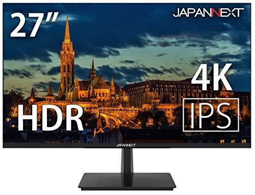 JAPANNEXT JN-IPS2704UHDR 4KHDR対応 27インチ液晶ディスプレイ Radeon freesync PCモニター