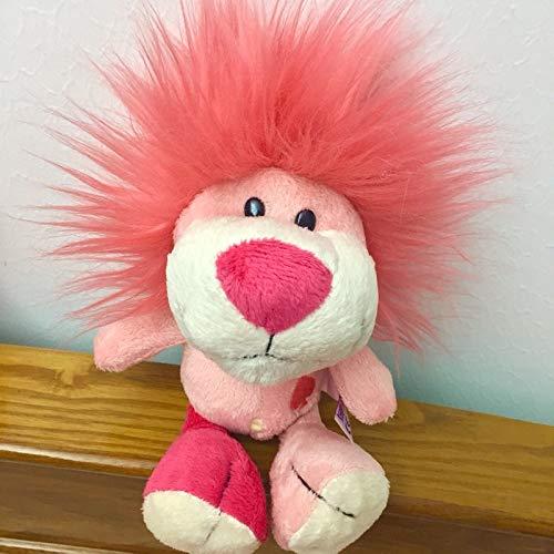 GSDJU Enfants 1 pc 25 cm Rose NICI éléphant Lapin Lion en Peluche Jouet en Peluche Doux Mignon Animal Jouets de Bande dessinée apaiser Jouets pour Enfants Cadeau