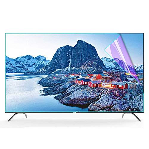 RPOLY 43-47 Pulgadas Protectora De Pantalla De TV De, TV Protección de Pantalla Antiazul Filtro Antideslumbrante Filtros ProteccióN para Los Ojos para LCD/LED y Plasma HDTV televisor,43inch/942x529mm