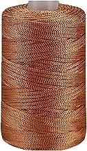 2 Pack Dark Green Ice Silk Thread Hollow Line DIY Knit Garen Hand Breien Garen Zomer Hoeden Tassen Schoenen Kussens Mat Ac...