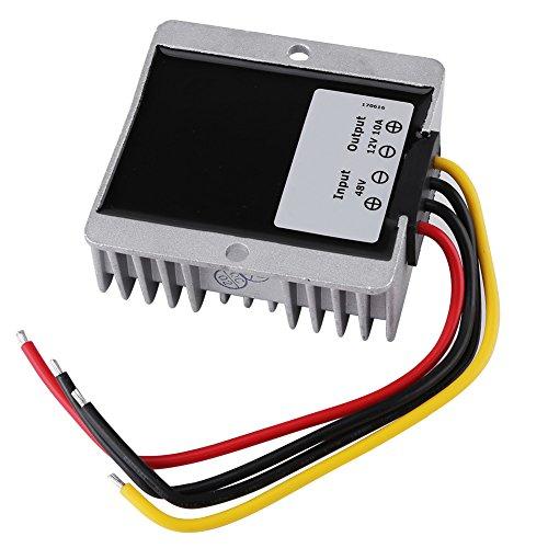 Convertidor CC CC 48V a 12V, convertidor reductor de voltaje de la fuente de alimentación 10A 120W Convertidor CC a CC 48V a 12V Convertidor reductor de voltaje