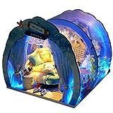 Kit de casa de muñecas en miniatura, kit de habitación oceánica con modelo 3D brillante, regalo para Halloween, Navidad, cumpleaños