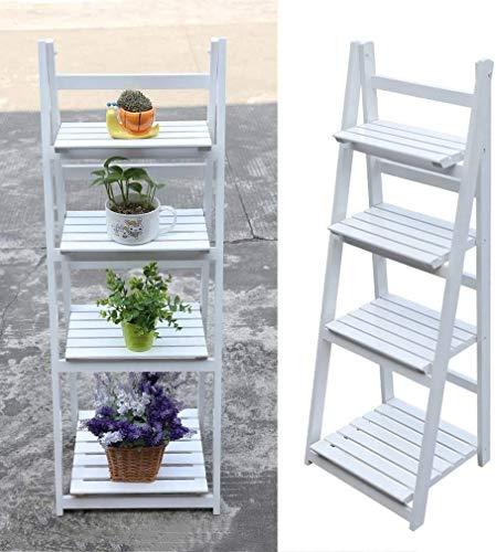 TGAICHO Estante de Flores de Escalera de Varios Niveles para jardín, balcón, Capacidad de Carga de...