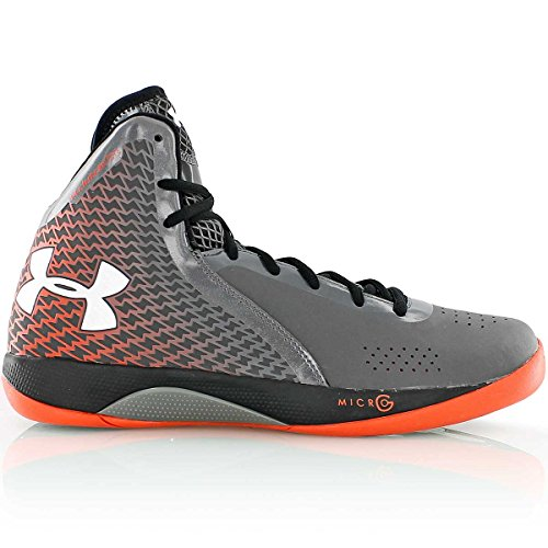 Under Armour - UA Micro G Torch 3 Gris/Orange - 44.5