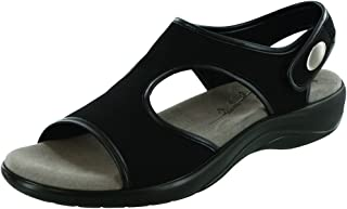 SAS Women's Harmony Sandal Black Leather