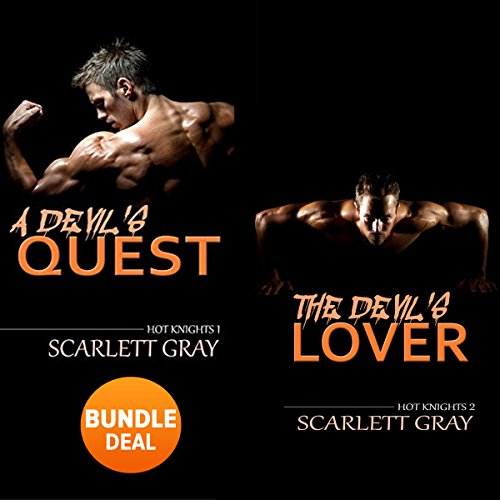 The Devil's Quest & The Devil's Lover - Hot Knights Series: Double Book Bundle audiobook cover art