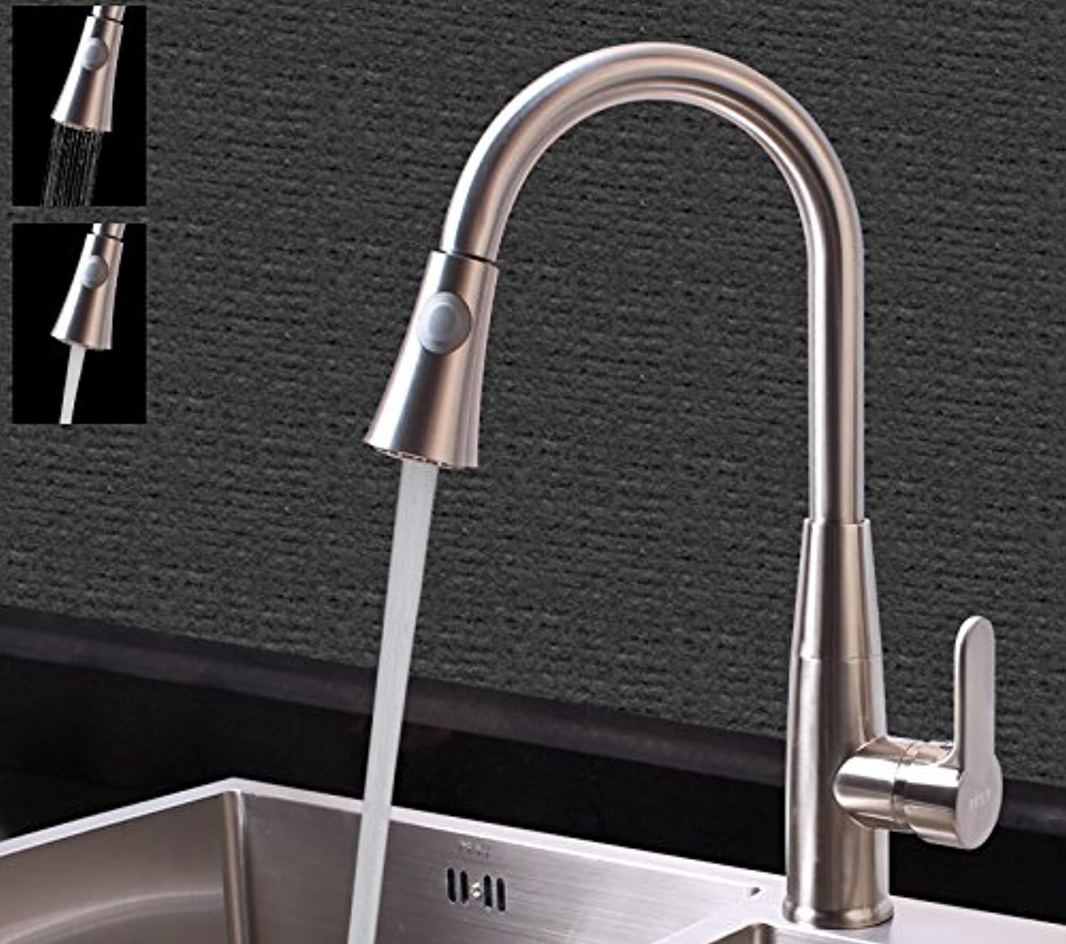 Bijjaladeva Antique Kitchen Sink Mixer Tap The Kitchen Cold Water Faucet 000 to redate The Dish Washing Basin Mixer Retractable Pull Sink Mixer 2