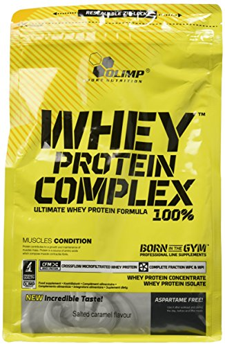 Olimp 100% Whey Protein Complex Supplement, 700 g, Salted Caramel