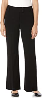 Women's Curvy Fit Gabardine Boot Leg Trouser
