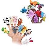 YeahiBaby 20pcs Marionette da dito animali marini Bambole da dito animali Storia Raccontar...