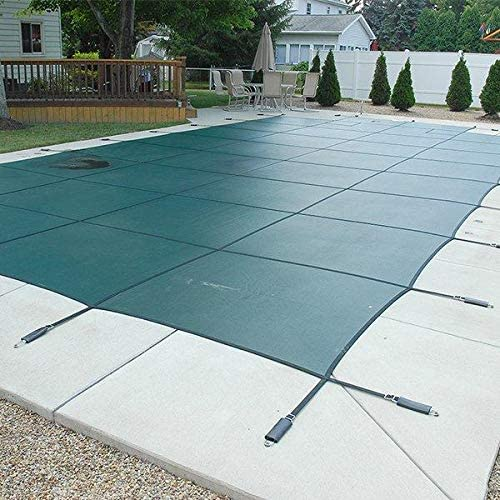 Special Campaign 16 x 32 Foot Rectangle Mesh Safety 8 with Pool Cover Ce 4 Max 56% OFF