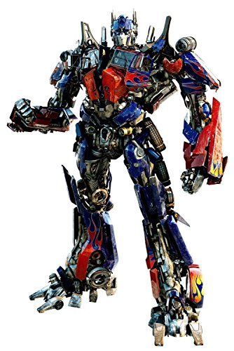 Transformer Wall Decal - Optimus Prime - Giant Wall Sticker Decor Party Decoration (Optimus Prime Giant)