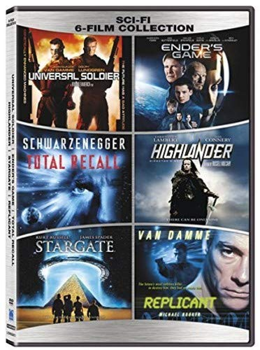 Sci-Fi 6-Film Collection [DVD]