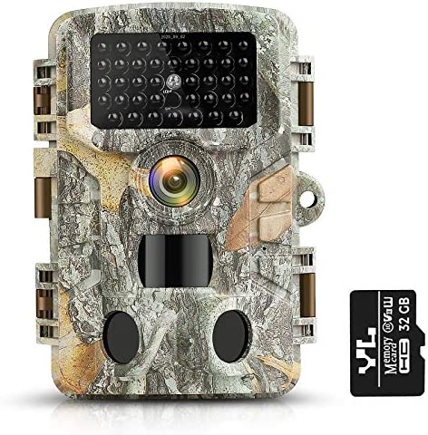 KUFA T1 Hunting Game Camera with 32GB SD Card 20MP Trail Camera 1080P Infrared Sensors 2 4 LCD product image