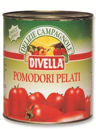 ディヴェッ ホールトマト 缶 2500g